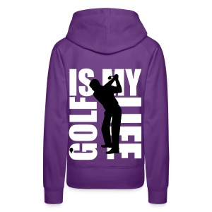 Sweat à capuche femme golf is my life - Sweat-shirt à capuche Premium pour femmes