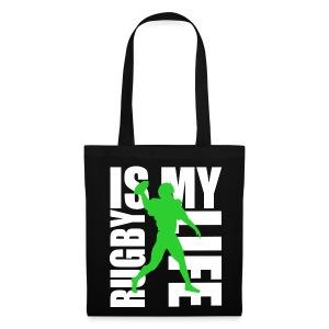 Sac rugby is my life - Tote Bag