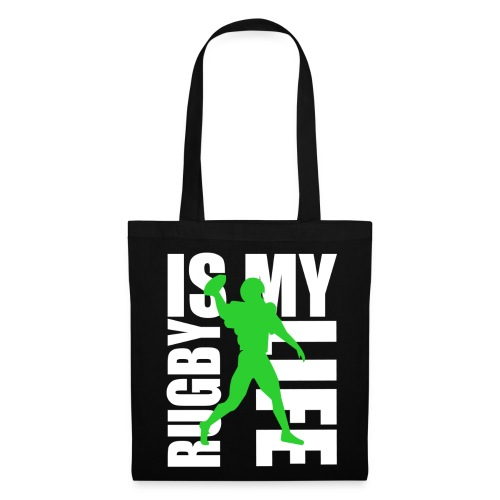 Sac rugby is my life - Tote Bag