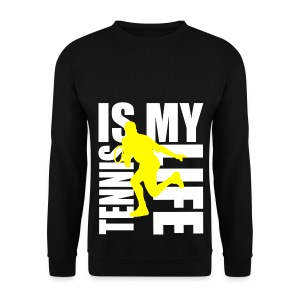 Pull homme tennis is my life - Sweat-shirt Homme