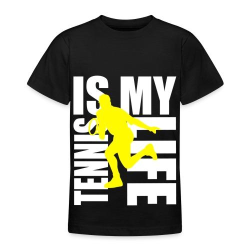 T shirt ado tennis is my life - T-shirt Ado