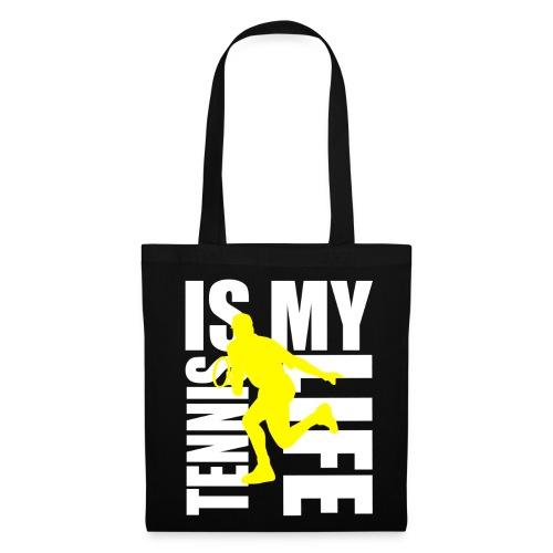 Sac tennis is my life - Tote Bag