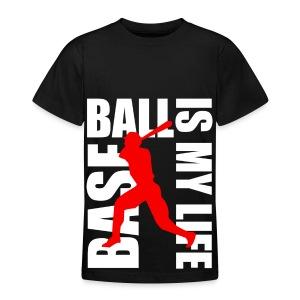 T shirt ado baseball is my life - T-shirt Ado