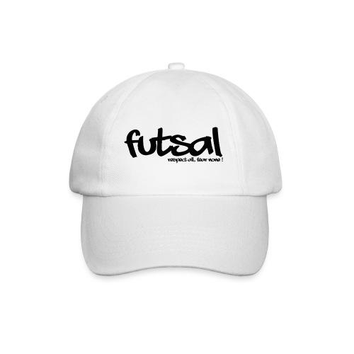Futsal Black IV - Casquette classique
