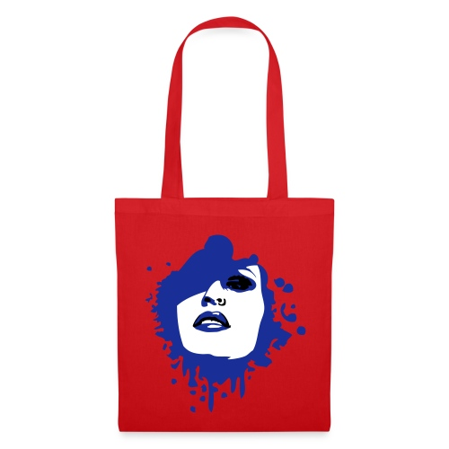 Sac Lady face - Tote Bag