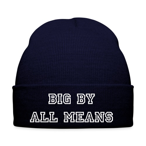 Big By All Means Official Hate - Winter Hat