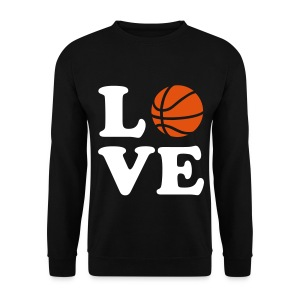 love Basketball Sweater - Men's Sweatshirt