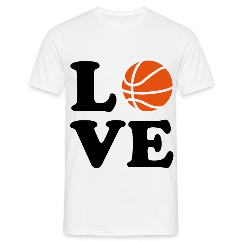 love Basketball T-shirt - Men's T-Shirt