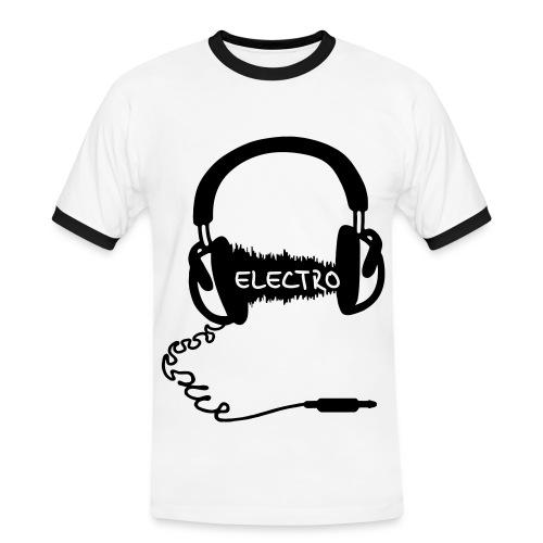Dj electro - Mannen contrastshirt