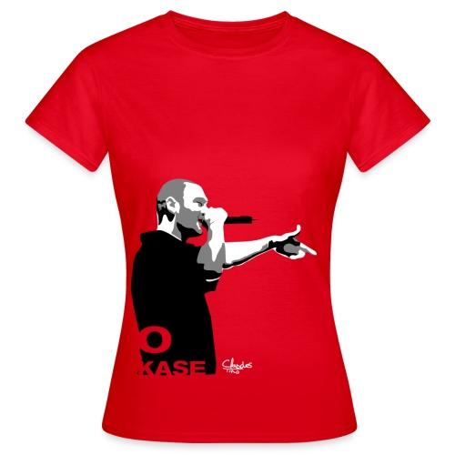 Camiseta Kase O mujer. - Camiseta mujer