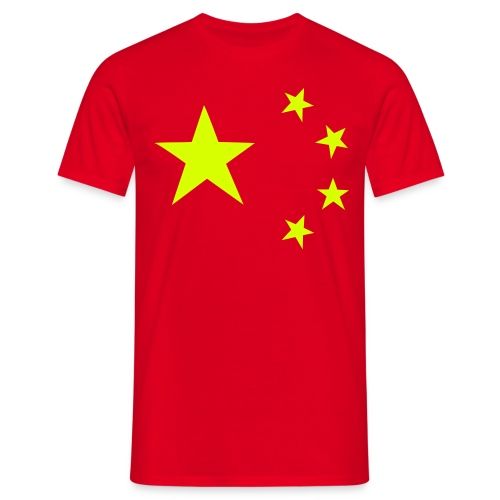 China flag - Men's T-Shirt