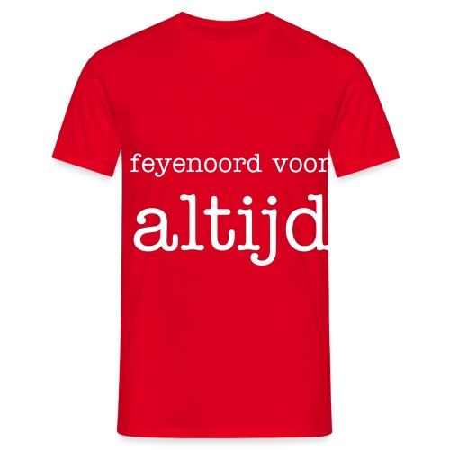 feyenoord fan shirt - Mannen T-shirt