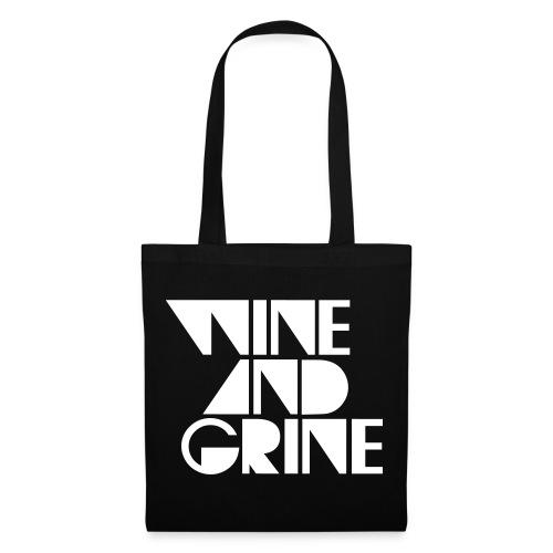Wine & Grine LP Bag - Tote Bag