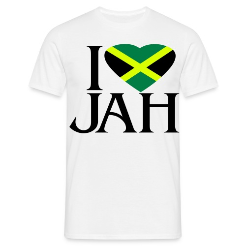 I Love Jah T-Shirt - Men's T-Shirt