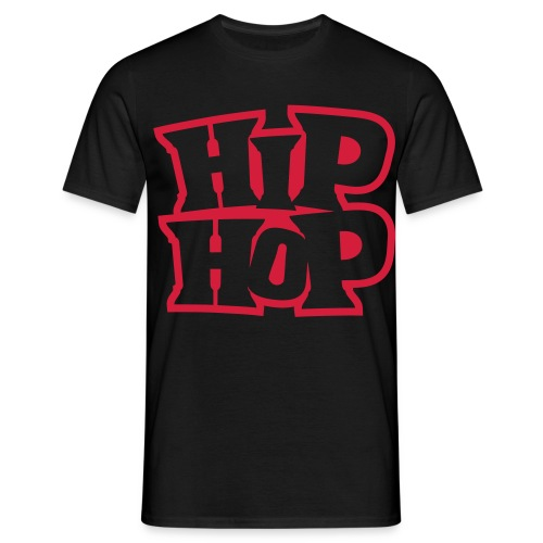 Hip-Hop T-Shirt Red - Men's T-Shirt