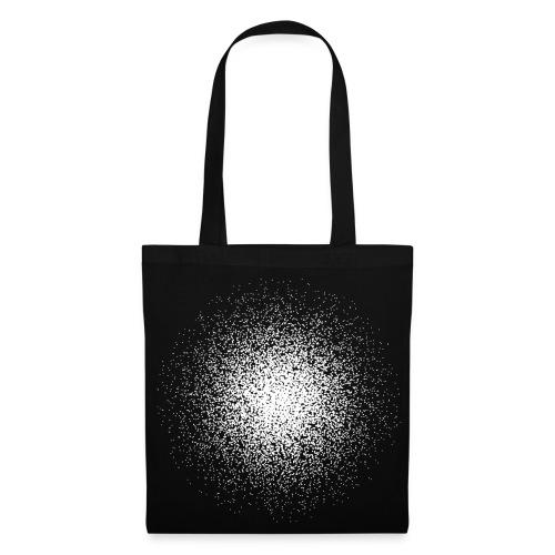Black point cloud bag - Tote Bag