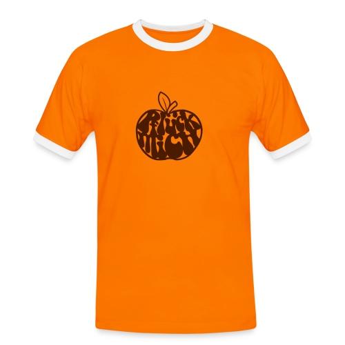 Pflück mich - Männer Kontrast-T-Shirt