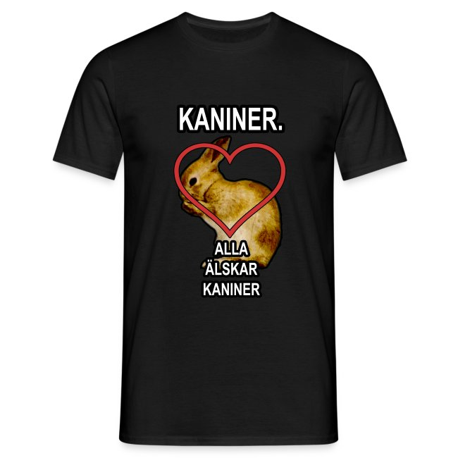 Kaniner T-shirt (Men)