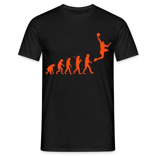 Evolution of Basketball - Men's T-Shirt