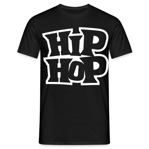 Hip-Hop T-Shirt White - Men's T-Shirt
