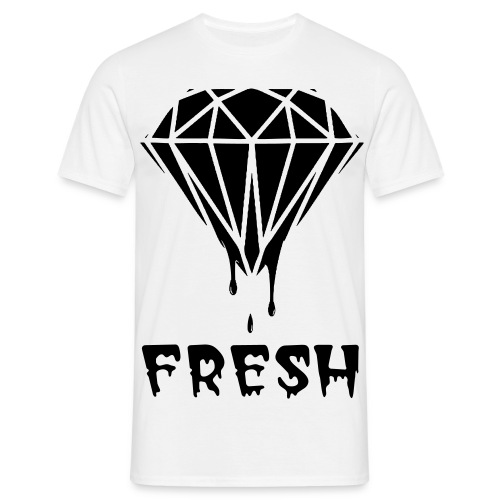 Diamond Fresh T-Shirt Black - Men's T-Shirt