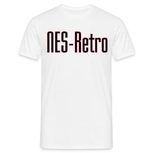 NES-Retro T-paita - Miesten t-paita