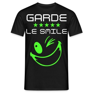 T-shirt DAYO Garde Le Smile, homme - T-shirt Homme
