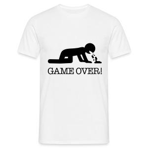 game over - Mannen T-shirt