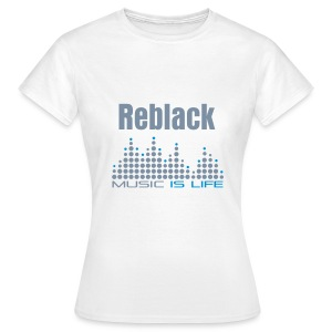 Reblack FRAUEN Shirt - Frauen T-Shirt