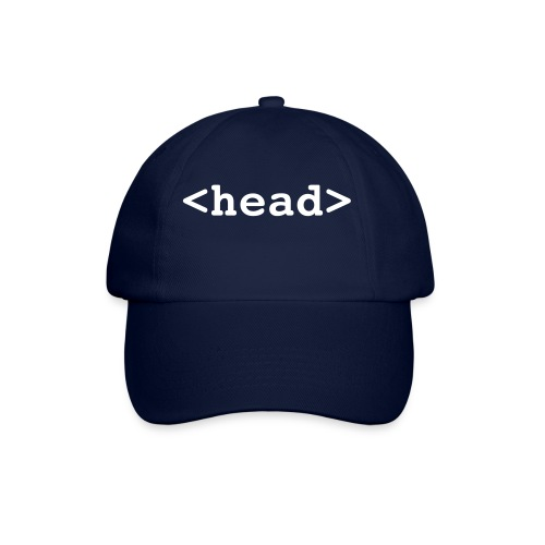 <head> - Czapka z daszkiem