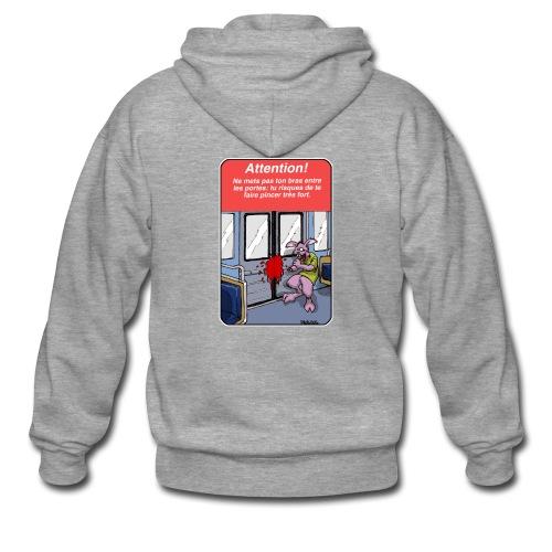 Defectuous Product.002 - Veste à capuche Premium Homme