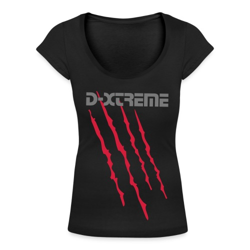 Scars Woman's top D-Xtreme - Women's Scoop Neck T-Shirt