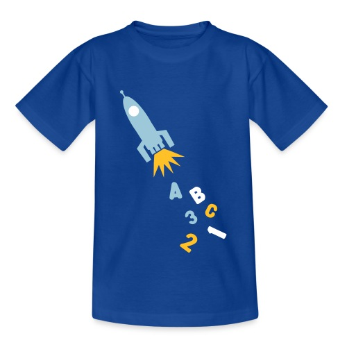 Kinder T-Shirt - universum,schultüte,schultag,schule,rakete,planeten,lernen,kosmos,kosmonaut,grundschule,erste Klasse,astronaut,anfang,Zuckertüte,Schüler,Schulkind,Schuleinführung,Schulanfang,Erstklässler,Erste,1a,-schütze