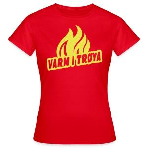 Varm i trøya - T-skjorte for kvinner