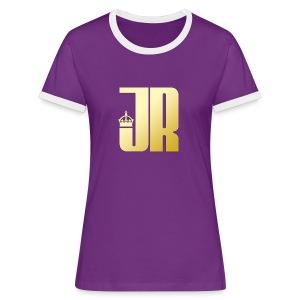 Jaques Raupé  - Frauen Kontrast-T-Shirt