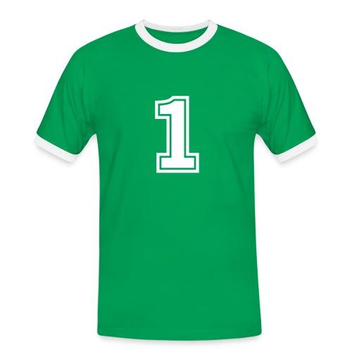 1st - Camiseta contraste hombre