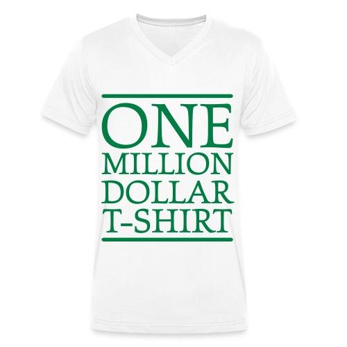 One Million Men - Männer Bio-T-Shirt mit V-Ausschnitt von Stanley & Stella