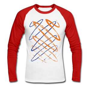 Scribble - Men's Long Sleeve Baseball T-Shirt