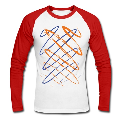 Scribble - Men's Long Sleeve Baseball T-Shirt