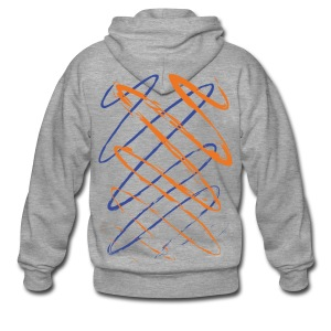 Scribble - Men's Premium Hooded Jacket
