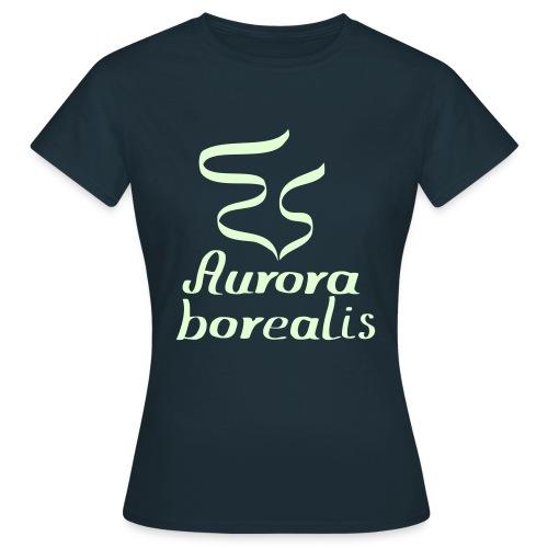Nordlicht Shirt - Frauen T-Shirt