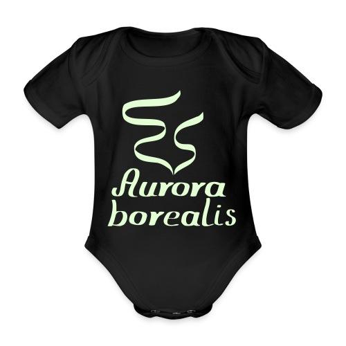 Nordlicht Babybody - Baby Bio-Kurzarm-Body