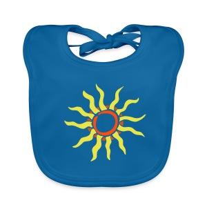 Sonnen Lätzchen - Baby Bio-Lätzchen