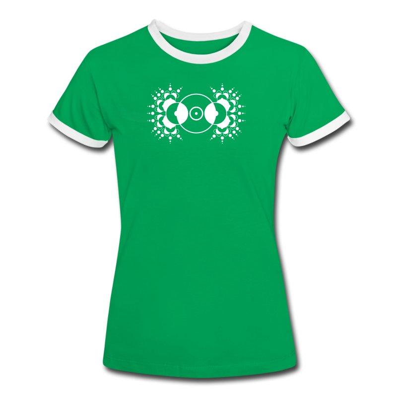 Cerchi Nel Grano - Crop Circle - Maglietta Contrast da donna