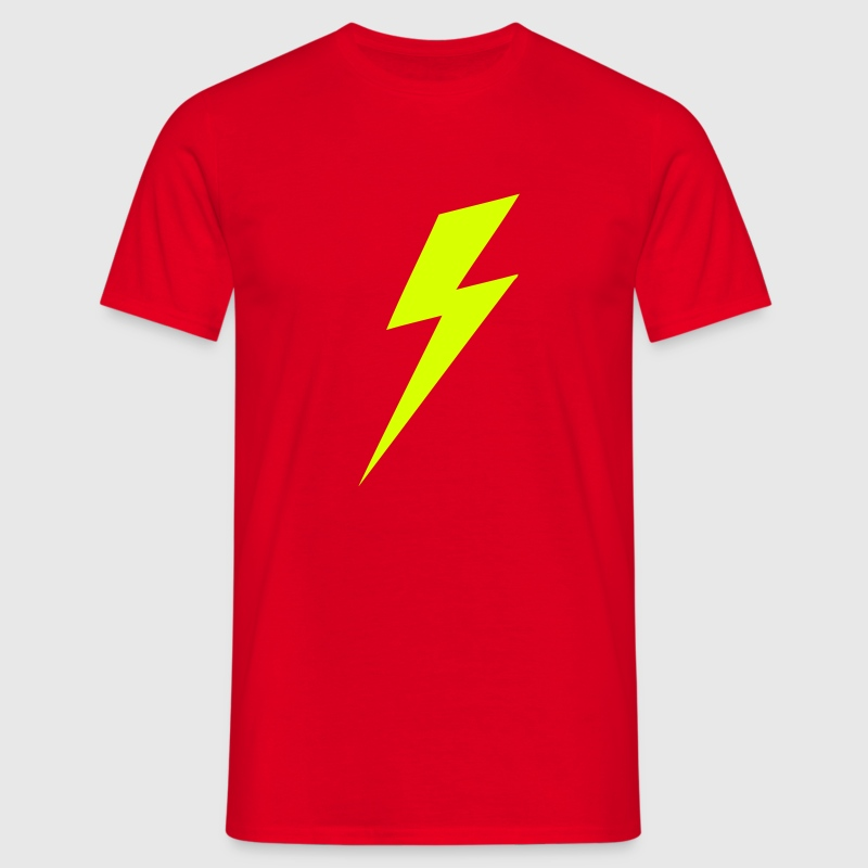 Lightning Bolt VECTOR T-Shirts - Men's T-Shirt
