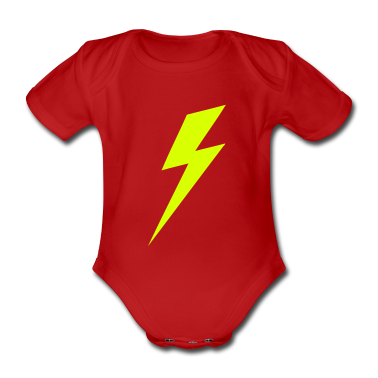Lightning Bolt VECTOR Baby Shirts