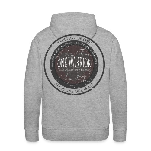 The Law of One - One Warrior hoodie - Men's Premium Hoodie