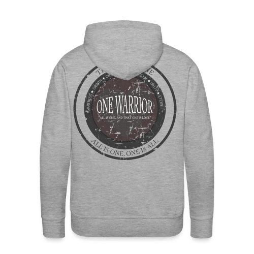 The Law of One - One Warrior hoodie - Men's Premium Hoodie
