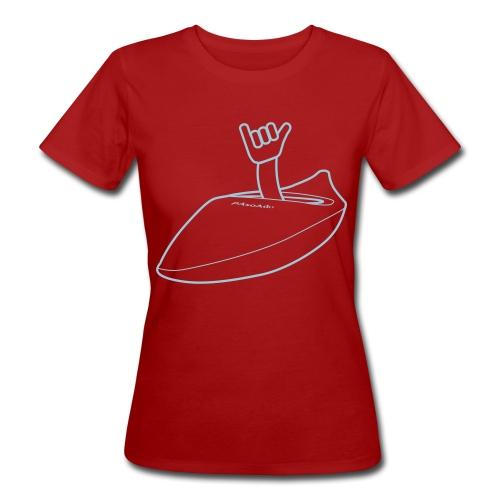 T-shirt kayak Shaka Femme - T-shirt bio Femme