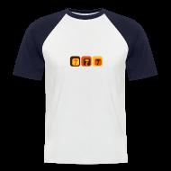 T-Shirts ~ Männer Baseball-T-Shirt ~ Shroom Lounge - Kurzärmeliges Baseballshirt